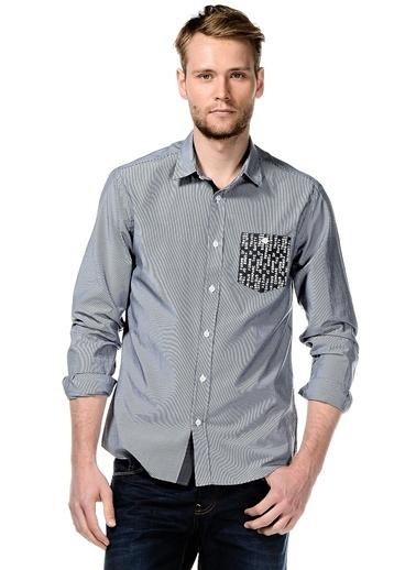 Asymmetry Gömlek İndigo